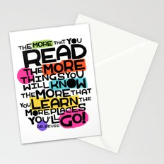 the more you that you read Stationery Cards