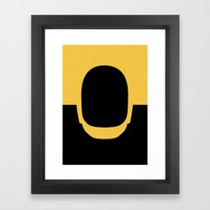 Daft Gold Framed Art Print