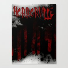 HorrorVille b-movie poster Canvas Print