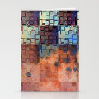 Digital Checkerboard Stationery Cards
