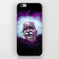 Albert Einstein Nebula iPhone & iPod Skin