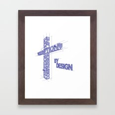 By Design Framed Art Print