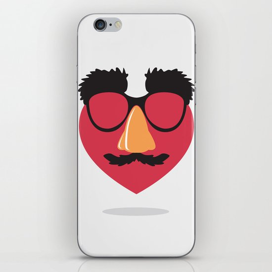 Love in Disguise iPhone & iPod Skin