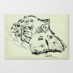 Hippo Canvas Print