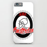 iPhone & iPod Case featuring Ajax hooligan crest by The Voetbal Factory