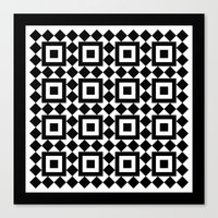 Victorian tile pattern #1 Canvas Print