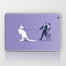 Walking The Kangaroo Laptop & iPad Skin