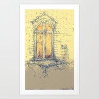 Window In Christiania Art Print