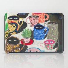 Suspicious mugs iPad Case
