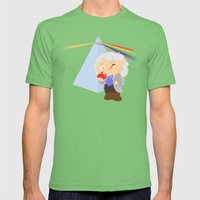 Isaac Newton Mens Fitted Tee Grass SMALL
