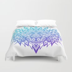 Heart of a Lion Duvet Cover
