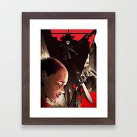 V (For Vendetta) Framed Art Print