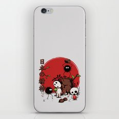 Kodamas & Susuwataris iPhone & iPod Skin