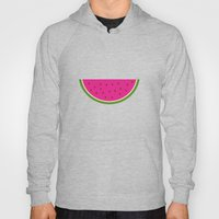 Watermelon print Hoody