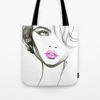 One Eyed Girl Tote Bag