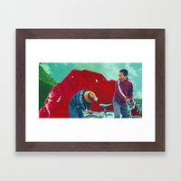 Return to Ruby Mountain Framed Art Print