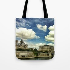 From the river Seine Tote Bag