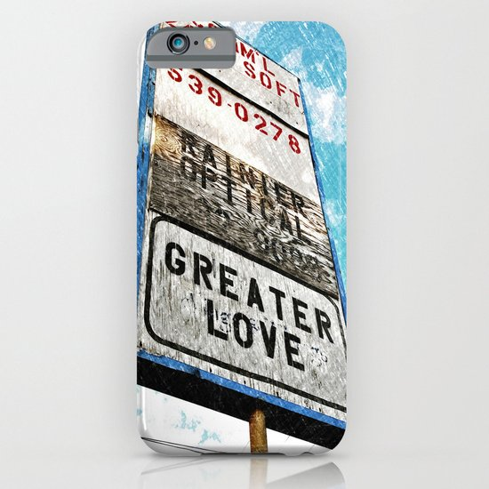 Greater Love iPhone & iPod Case