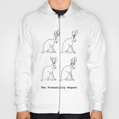 The Probability Magnet (with text) Hoody