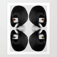 Primal Fashion Art Print