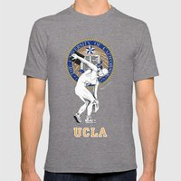 UCLA ...let there be light Mens Fitted Tee Tri-Grey SMALL
