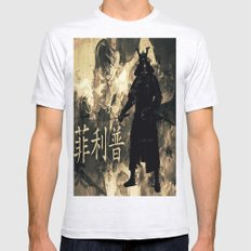 Honor of the Samurai Mens Fitted Tee Ash Grey SMALL