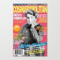 COSMARXPOLITAN, Issue 16 Canvas Print