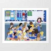 Kindergarten Art Print