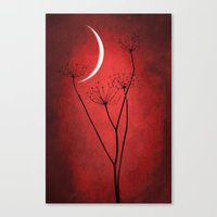 Red Is On Canvas Print