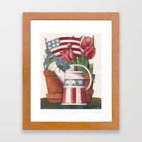 American Summer Framed Art Print