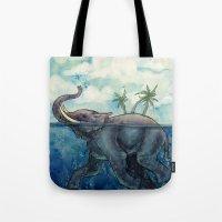 Elephant Island Tote Bag