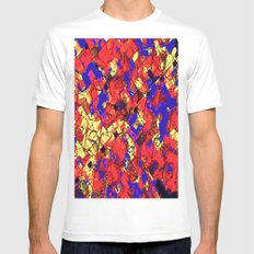 JIGS White SMALL Mens Fitted Tee