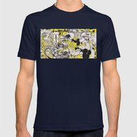 Confession Mens Fitted Tee Navy SMALL