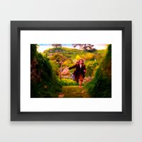 Bilbo's Adventure Begins… Framed Art Print