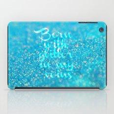 Glitter in my Veins (Photo of Glitter) iPad Case