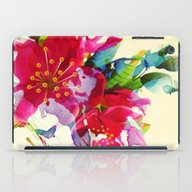 iPad Case featuring Exploded Floral by Clemm
