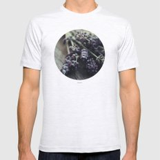 Lavender Harvest Mens Fitted Tee Ash Grey SMALL