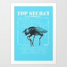 Top secret Art Print