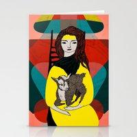 Goat Herder 1 Stationery Cards