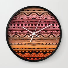 Surf Tribe Wall Clock