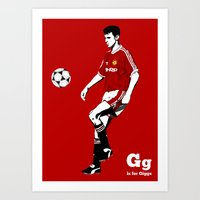G is for Giggs Art Print