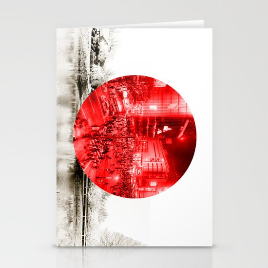 Land of the Rising Sun Stationery Card