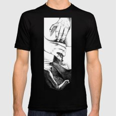 Apollonia Saintclair 605… Mens Fitted Tee Black SMALL
