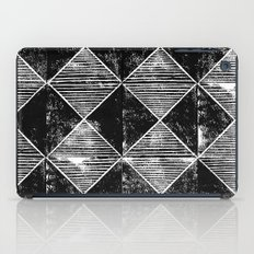 Chequers I Black iPad Case
