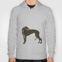 Greyhound Dog Hoody