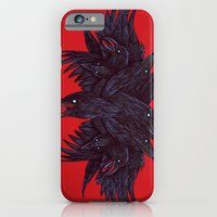 iPhone & iPod Case featuring Crowberus by Nick Volkert