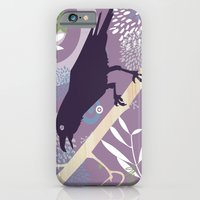iPhone & iPod Case featuring Crow by Jaina Hill-Rodriguez