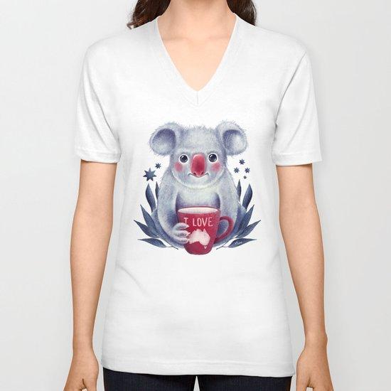 I♥Australia V-neck T-shirt
