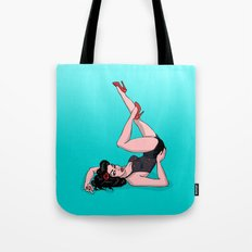 Pin Up Retro Tote Bag