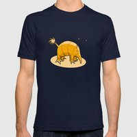 Pet#01 Mens Fitted Tee Navy SMALL